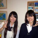 横田基地英会話生徒ゆり、るりこ